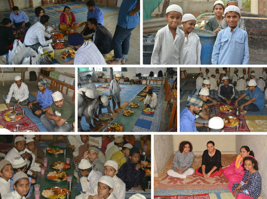 CSR Activities - ramzan iftar